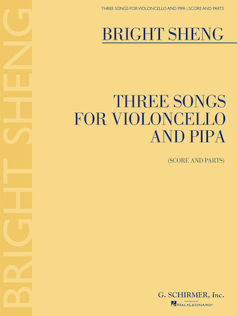 Product Cover for Three Songs for Violoncello and Pipa