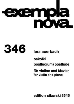 Product Cover for Oskolki – Postlude