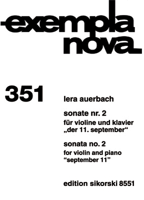 Product Cover for Sonata No. 2 for Violin and Piano