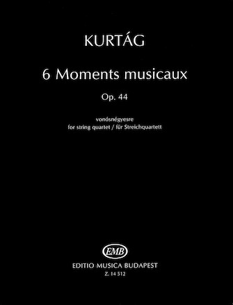 Product Cover for 6 Moments musicaux, Op.44