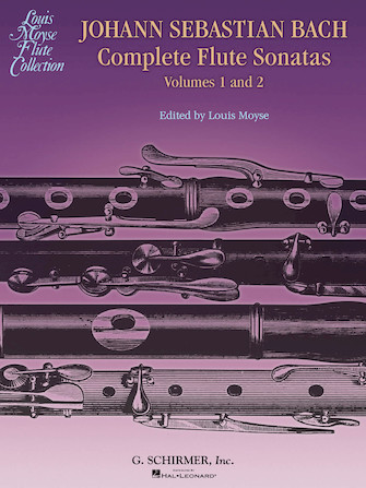 Product Cover for Bach Complete Flute Sonatas – Volumes 1 and 2
