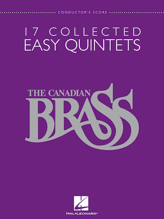 Product Cover for The Canadian Brass – 17 Collected Easy Quintets