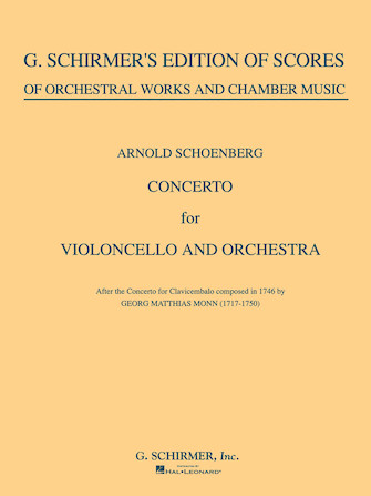 Product Cover for Concerto for Cello & Orchestra