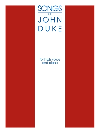 Product Cover for The Songs of John Duke