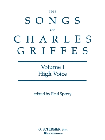 Product Cover for Songs of Charles Griffes – Volume I