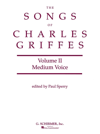 Product Cover for Songs of Charles Griffes – Volume II