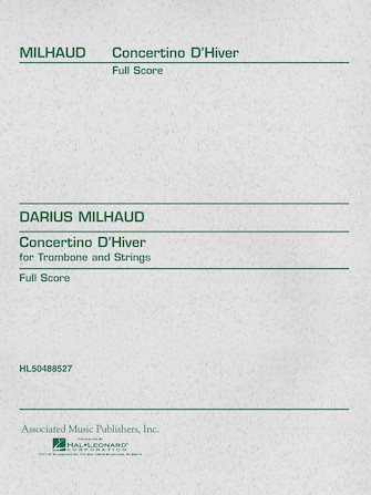 Product Cover for Concertino d'Hiver