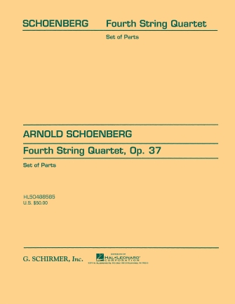 Product Cover for String Quartet No. 4, Op. 37