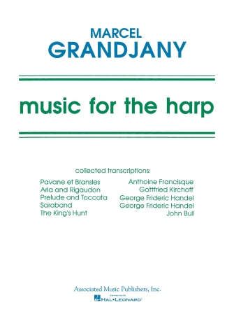 Product Cover for Music For The Harp Music Of Various Composers Arr By Grandjany