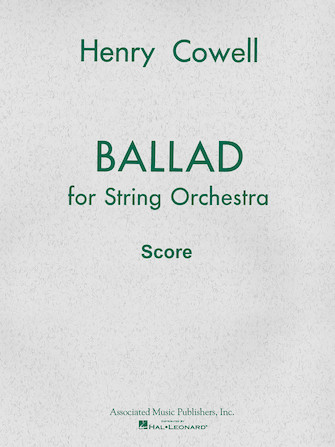 Product Cover for Ballad (1954) for String Orchestra