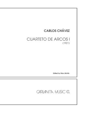 Product Cover for Cuarteto de Arcos No. 1