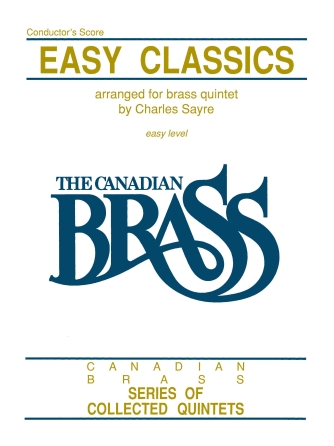 Product Cover for Easy Classics for Brass Quintet