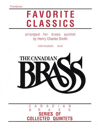 Product Cover for The Canadian Brass Book of Favorite Classics