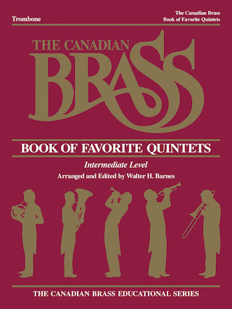Product Cover for The Canadian Brass Book of Favorite Quintets