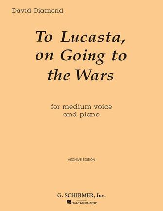Product Cover for To Lucasta (On Going to Wars)