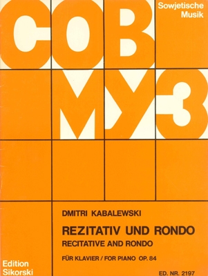 Product Cover for Recitative and Rondo, Op. 84 (VAAP Edition)
