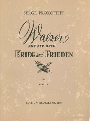 Product Cover for Waltz from War and Peace, Op 96