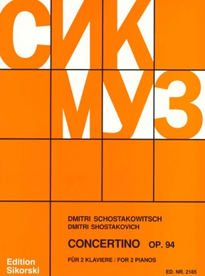 Product Cover for Concertino for 2 Pianos, Op. 94