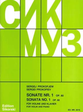 Sonata No. 1 Op. 80