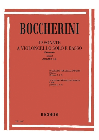 Product Cover for 19 Sonatas, Vol. 1 (Nos. 1-9)