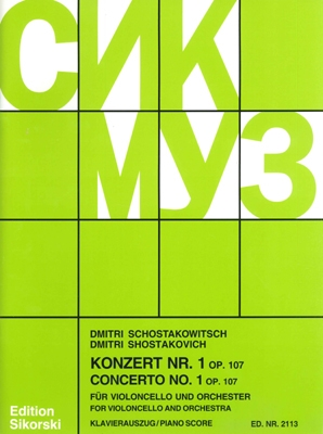 Product Cover for Concerto No. 1 for Violoncello and Orchestra, Op. 107 – Revised Edition