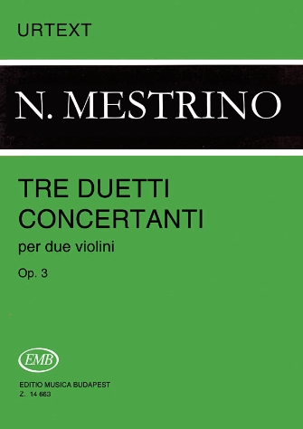 Product Cover for 3 Duetti Concertanti, Op. 3