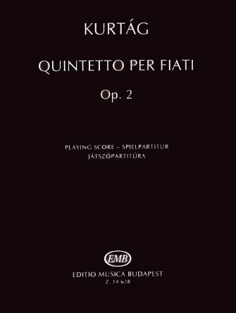 Product Cover for Quintetto per Fiati, Op. 2
