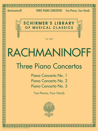 Product Cover for Three Piano Concertos: Nos. 1, 2, and 3
