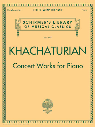 Product Cover for Concert Works for Piano