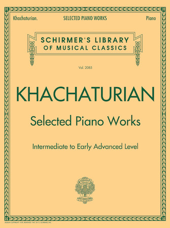 Product Cover for Selected Piano Works