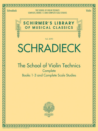 Product Cover for The School of Violin Technics Complete