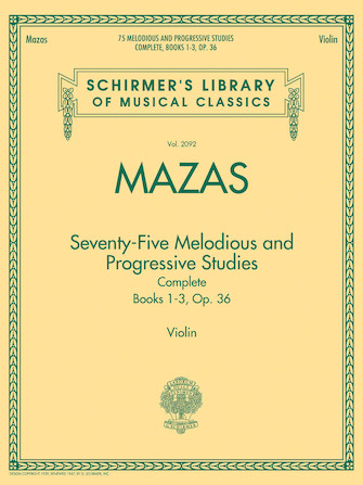 Product Cover for 75 Melodious and Progressive Studies Complete, Op. 36