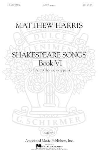 Product Cover for Shakespeare Songs, Book VI