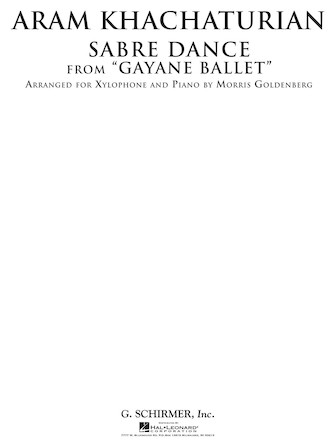 Product Cover for Sabre Dance from Gayane Ballet