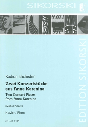 Product Cover for 2 Concert Pieces from Anna Karenina