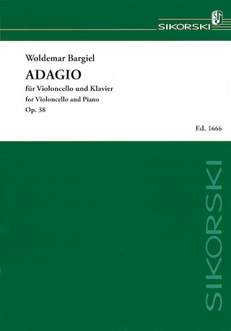 Product Cover for Adagio, Op. 38