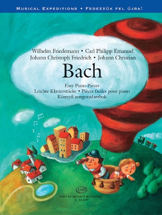 Product Cover for Bach Easy Piano Pieces – Musical Expeditions Series