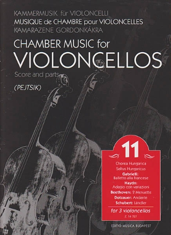 Product Cover for Chamber Music for Violoncellos, Vol. 11