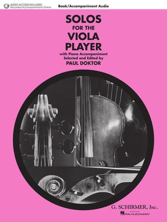 Product Cover for Solos for the Viola Player