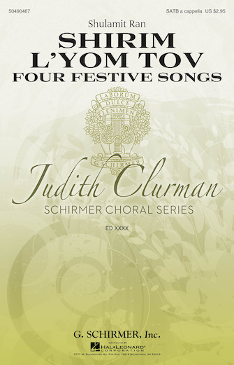 Product Cover for Shirim L'Yom Tov – Four Festive Songs