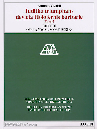 Product Cover for Juditha triumphans devicta Holofernis barbarie, RV 644