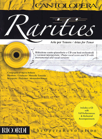 Product Cover for Rarities: Arias for Tenor