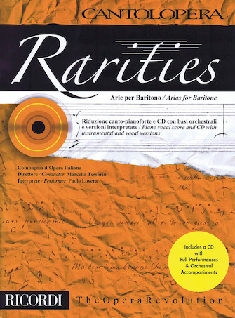Product Cover for Rarities: Arias for Baritone