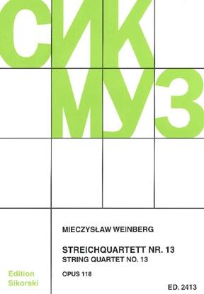 Product Cover for String Quartet No. 13