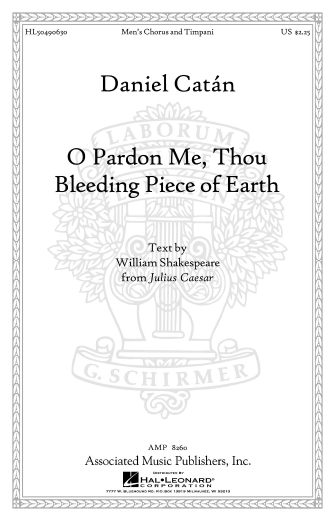 Product Cover for O Pardon Me, Thou Bleeding Piece Of Earth