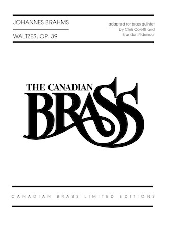 Product Cover for Waltzes, Op. 39