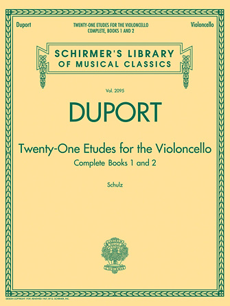Product Cover for Duport – 21 Etudes for the Violoncello, Complete Books 1 & 2