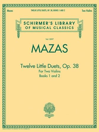 Product Cover for Mazas – Twelve Little Duets for Two Violins, Op. 38, Books 1 & 2