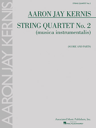 Product Cover for String Quartet No. 2 (musica instrumentalis)