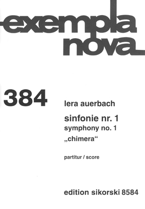 "Product Cover for Symphony No. 1 ""Chimera"""